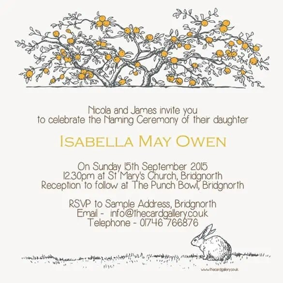 naming ceremony invitation 26