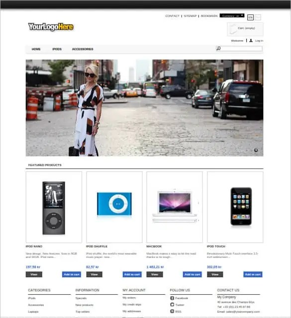 prestashop themes free download 164
