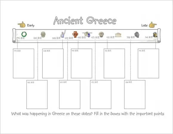 timeline template for kids 697+
