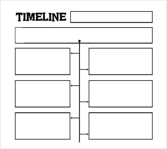 Timeline Templates For Kids - Template