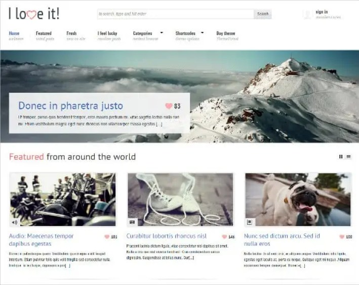 Content Sharing WordPress Themes 42