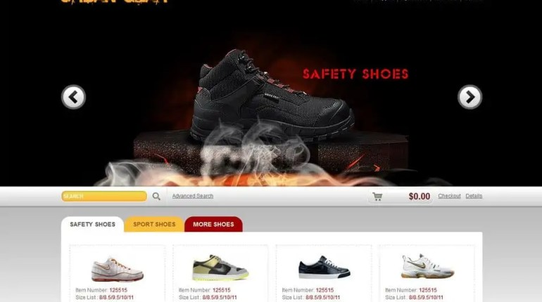 Ecommerce HTML5 Templates 100