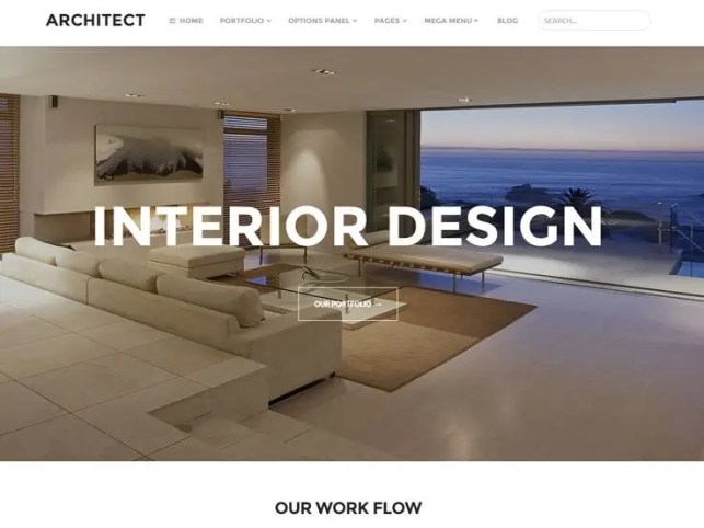 Interior Design WordPress Themes 12