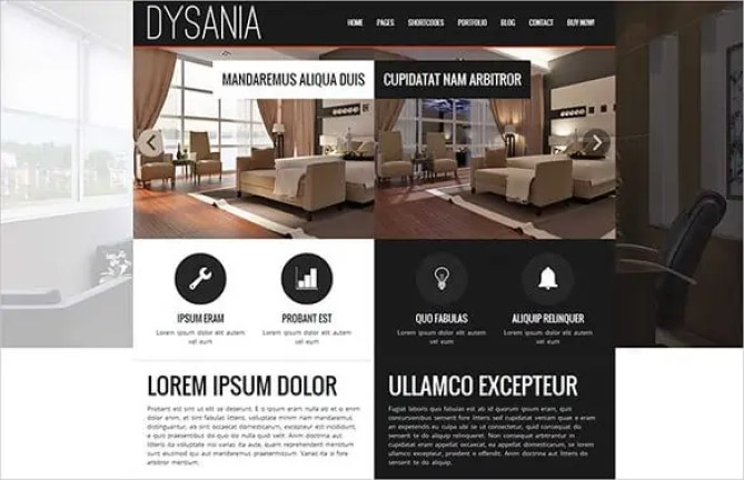Interior Design WordPress Themes 32