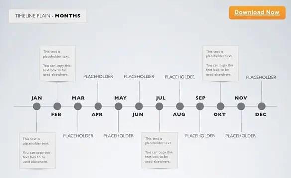 Keynote Timeline Template 42
