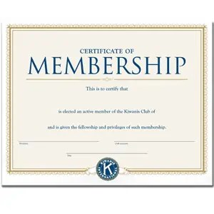 Awesome Honorary Member Certificate Template Intended For Membership Certificate Templates