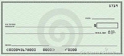 Blank Check Template 444