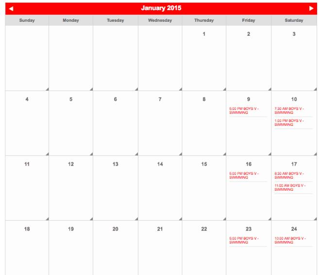 Codeigniter Calendar Template Images Template Design Free Download