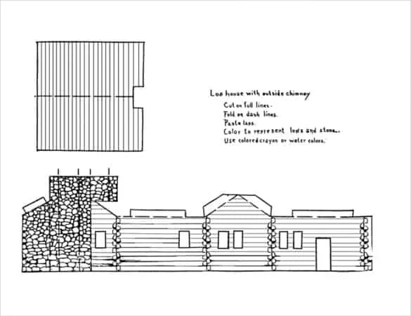 Paper House Templates