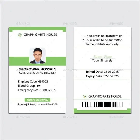 Identity card template word goalblockety identity card template word maxwellsz