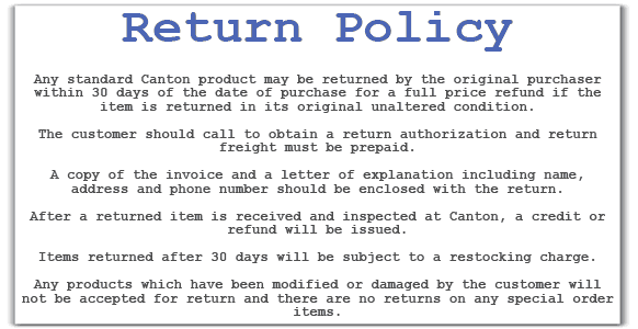 return policy template 20
