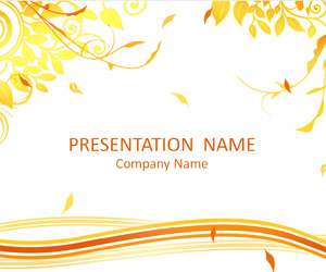 Autumn PowerPoint Template