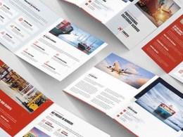 Transport Brochure Templates