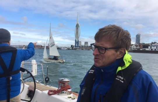 Sailing day in portsmouth