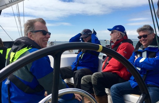 Temple Legal Protection sailing day