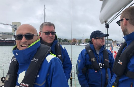 Sailing day in the solent 3