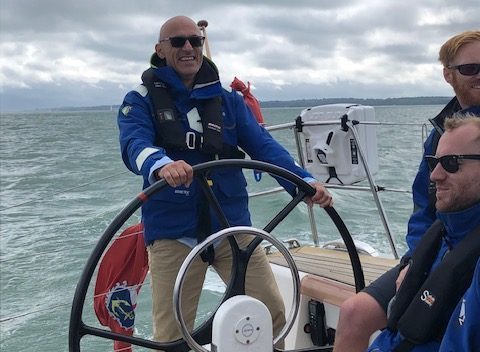 Sailing day in the solent 8