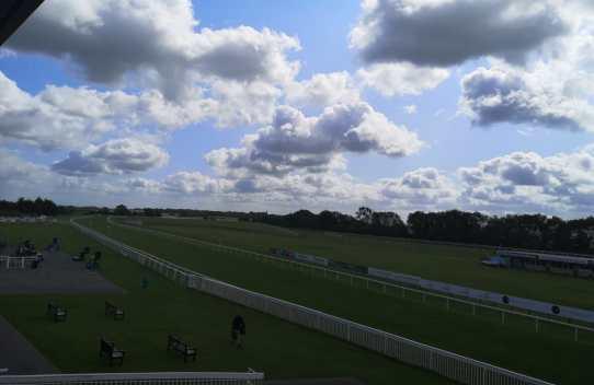 view overlooking bath racecourse 2