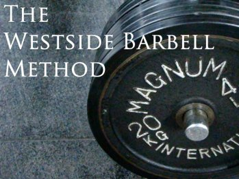 The Westside Method for Raw Powerlifting