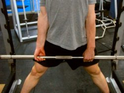 Mixed Grip Sumo Deadlift