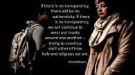 3.3 - Transparent Relationships