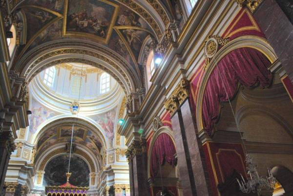 St Pauls Cathedral Mdina - Where Publius met St Paul ...