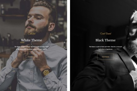CutStyle WordPress Barber Shop Theme