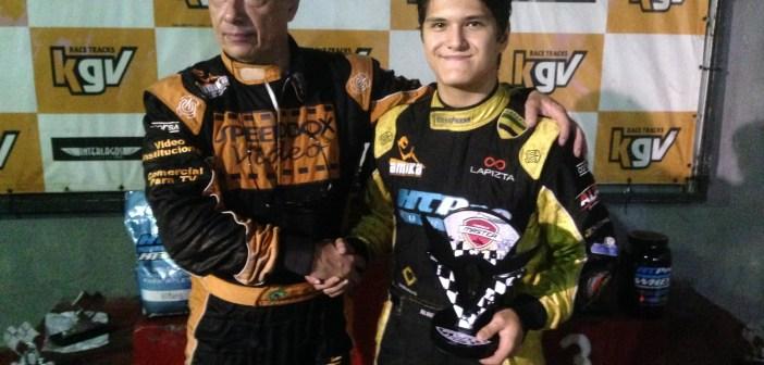 Fórmula Master de Kart: Alberto Cesar Otazú vence novamente e é campeão