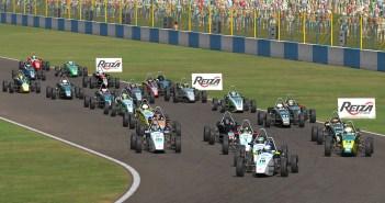 Fórmula Vee Brazil eRace: Factory Assault Team domina etapa de Goiânia com vitórias de Fernandes e Riffel