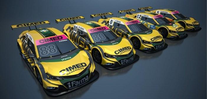 Maior vencedora da Stock Car em 2018, Cimed Racing divulga Outubro Rosa em Londrina