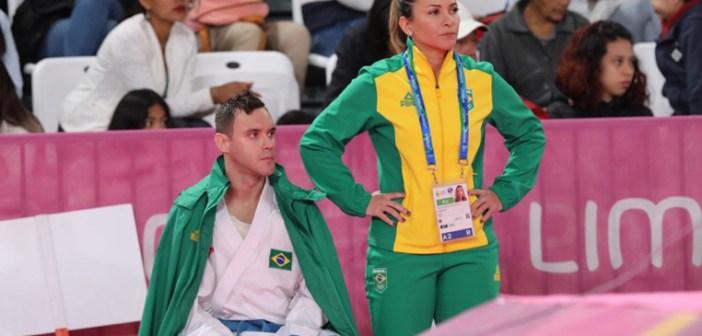 Douglas Brose conquista a prata e bate recorde de medalhas na história do karatê em Jogos Pan-Americanos