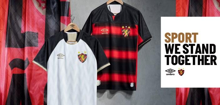 Umbro lança novas camisas do Sport, que homenageiam 115 anos de fundação do clube