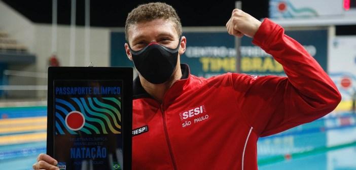 Matheus Gonche garante vaga para os Jogos Olímpicos de Tóquio