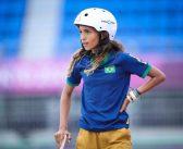 Rayssa Leal, a fadinha do skate, faz história ao se tornar a mais jovem medalhista olímpica brasileira!