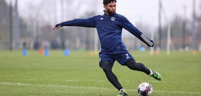Próximo do retorno, volante Otávio revela expectativa para retorno aos gramados pelo Bordeaux