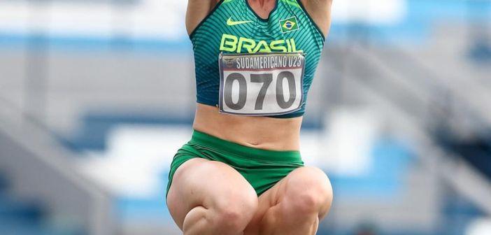 Atleta da Memorial Santos/FUPES é campeã Sul-Americana de Salto em Distância