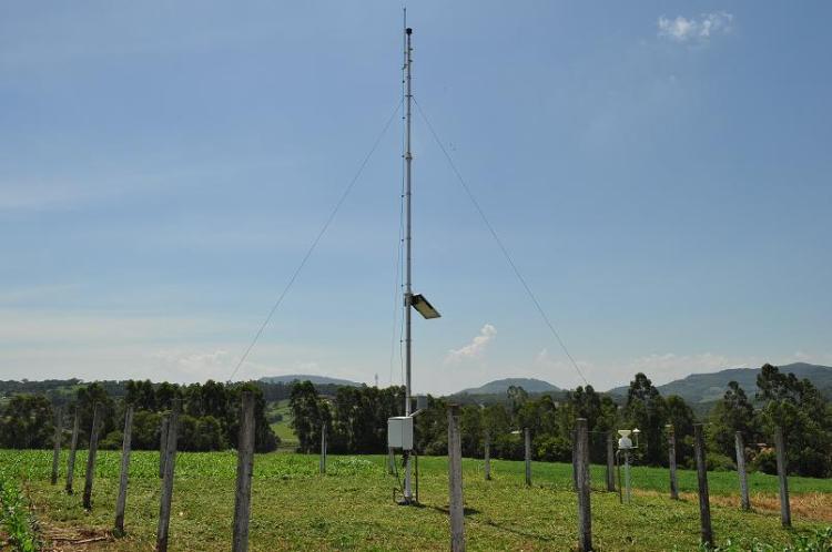Estação Meteorológica Automática do INMET em Teutônia/RS