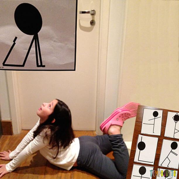 Tire as crianças do sofá com esse concurso de poses!
