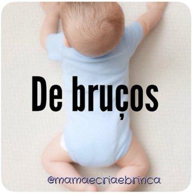 Atividades para bebês de 0 a 6 meses – #8 – Ficar de bruços