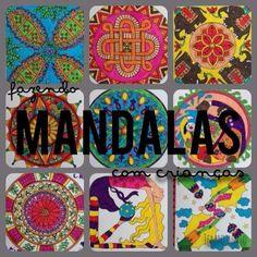 Mandalas para você e seus filhos pintarem juntos