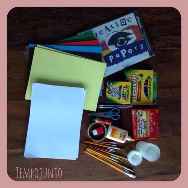 Os materiais que você deve ter para fazer da sua casa uma fábrica de atividades