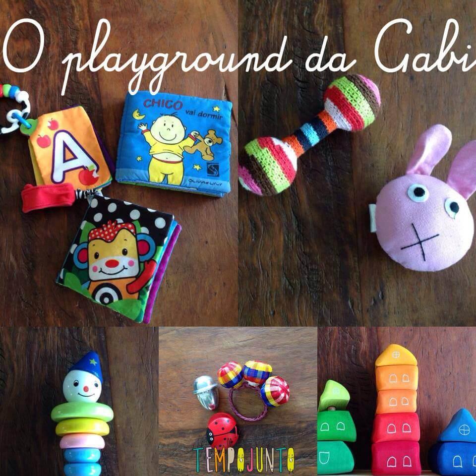 Playground da Gabi – brinquedos para bebês de 6 a 12 meses – parte 2