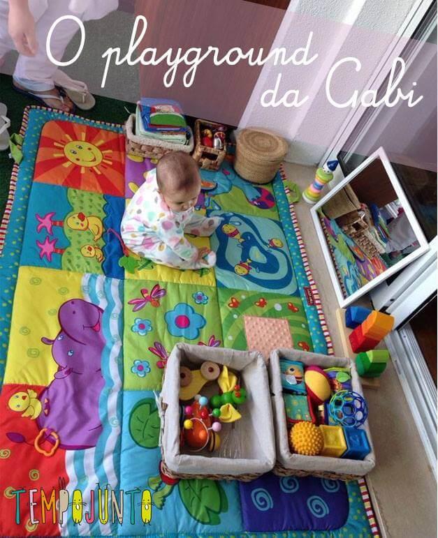 Gabi brincando no playground_default parte 2