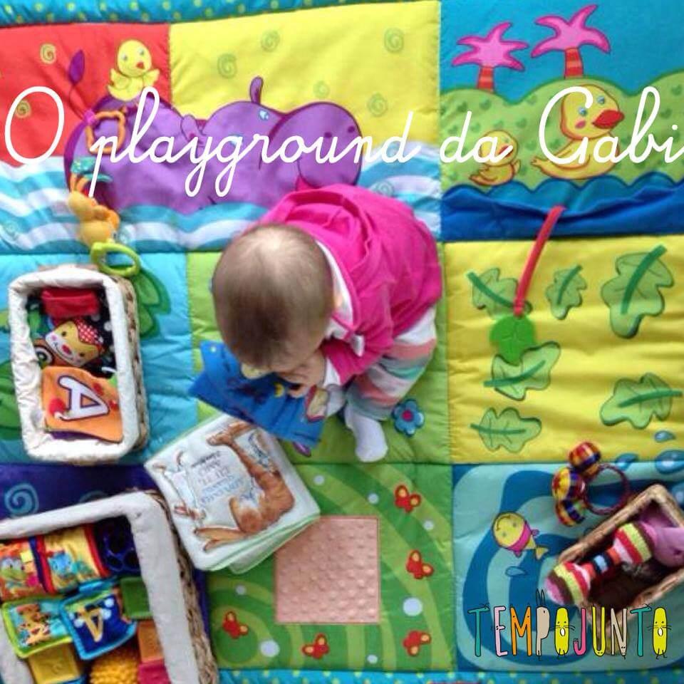 Playground da Gabi – brinquedos para bebês de 6 a 12 meses