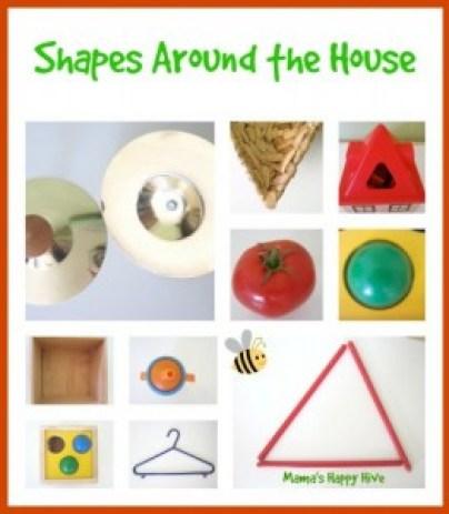 Brincadeiras do método Montessori para fazer com seu bebê - procurando pelas formas pela casa
