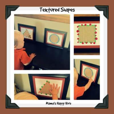 Brincadeiras do método Montessori para fazer com seu bebê - usando texturas