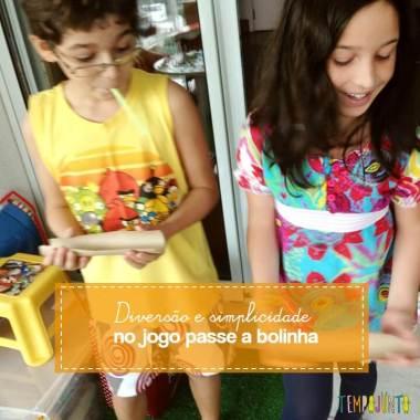 Jogo Passe a Bolinha
