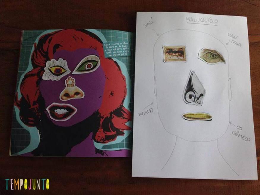 Os retratos curiosos feitos pela Carol e pela Pat