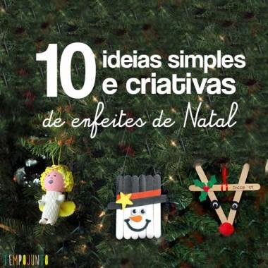 10 enfeites de Natal para você deixar a árvore mais bonita!