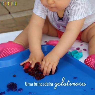 Descoberta Sensorial com Gelatina